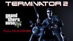 Terminator 2 mit GTA V nachgestellt