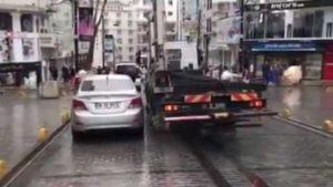 Wie in der Türkei Autos abgeschleppt werden