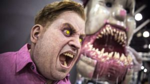 Den utrolige skabninger og masker FX kunstner Patrick Magee