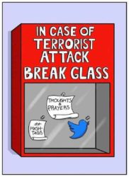 In Case of Terrorist Attack break Glass