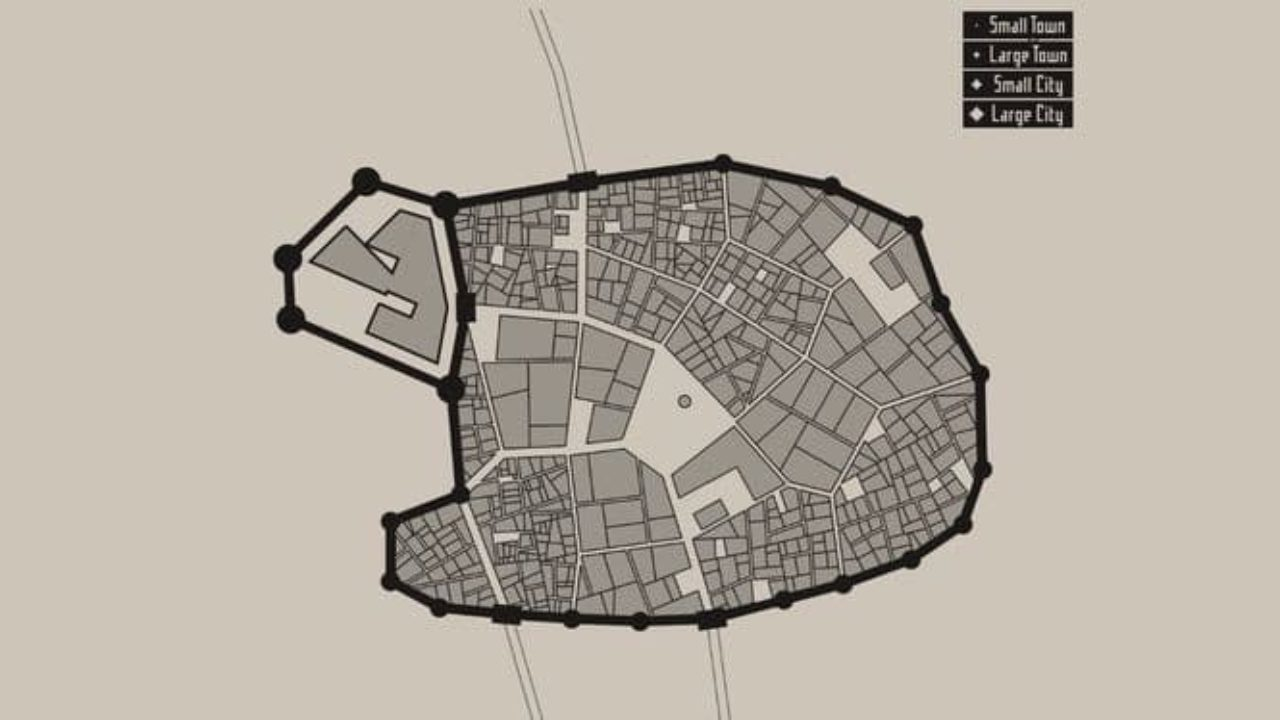 Medieval map gnerator - Medieval City Layout Generator | Dravens