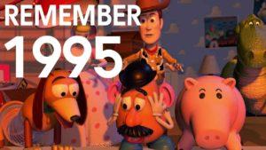 Remember 1995: Nostalgischer, popkultureller Rückblick auf das Jahr 1995