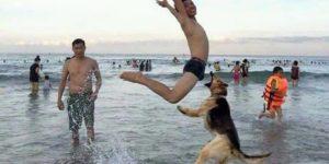 Sahilde Eğlence