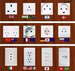 Steckdosen aus aller Welt
