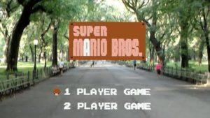 Super Mario Bros als Augmented Reality Game