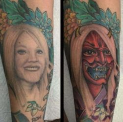 Tattoo Cover-Up nach der Trennung