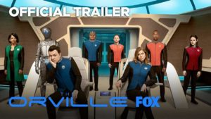 Orville - Traileri Star Trek Parody