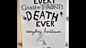 """Tode aus """"Game of Thrones"""" von Hand nachgezeichnet und clever montiert"""