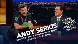 """Andy Serkis liest Trump Tweets als Gollum aus """"Herr der Ringe"""""""