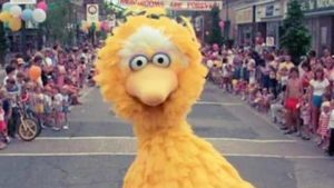 Big Bird gör Sabotage