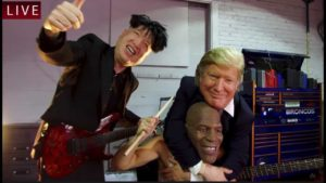 Nuclear Power Trio: Donald Trump, Kim Jong-un og Mike Tyson funnet ny prog-metal supergruppe