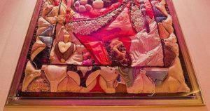Panty Quilt: Frank Zappas soffitto Abbigliamento intimo, che è stato gettato sul palco