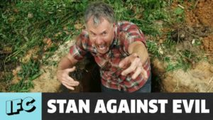 """Stan Against Evil"", 2. Squadron: Trailer og plakat"