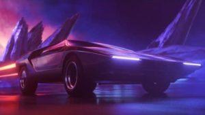 Synthwave-Cars im Future-Look der 80 Jahre