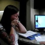 Deaf woman hears for the first time her own voice