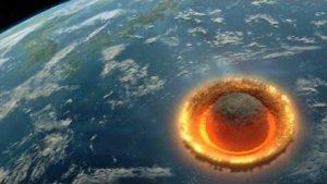 Wenn ein riesiger Asteroid zu Pink Floyd auf die Erde stürzt