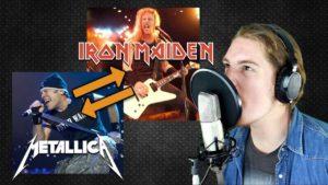 Om Iron Maiden och Metallica utbyta sångare