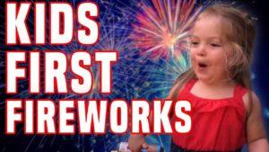 Wenn Kinder zum ersten Mal Feuerwerk sehen