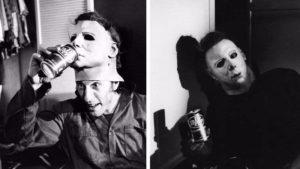 "Dietro le quinte foto vom Dreh zu & quot; Halloween"" 1978"