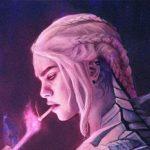 cyberpunk Daenerys