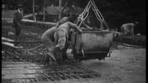 Der Bau der Lorrainebrücke