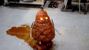 Den första robot Poo