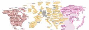 Deutsche Wörter und wohin sie ausgewandert sind