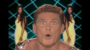 "Veliler' Inferno: David Hasselhoff wird in ""Guardians of the Galaxy""-Musikvideo zum Disco-Funkmaster"