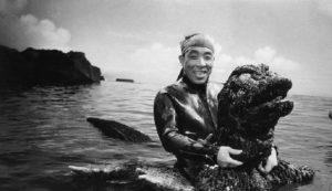 Haruo Nakajima, miehen sisällä Godzilla puku, kuollut