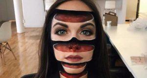 Kauhu meikkiä illuusioita Mimi Choi