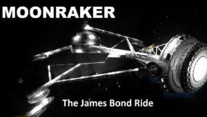 James Bond Moonraker als virtuelle Achterbahnfahrt