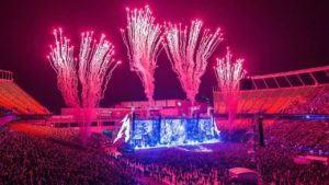 Metallica bracht hun volledige concert in Edmonton