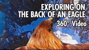 Mit 360° Sicht eines Adlers über die Dolomiten fliegen