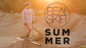 Verão Skifi real: Esqui no verão