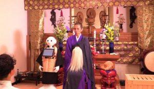 Robot präster för begravningar