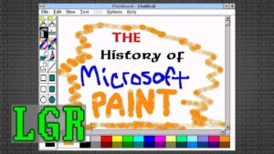 The History of MS Paint 1985 - 2017