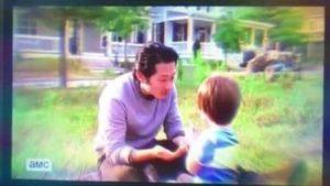 The Walking Dead: Deze emotionele scène was in het seizoen 7 niet getoond