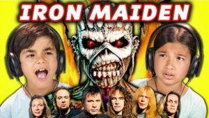 Wie Kinder auf Iron Maiden reagieren