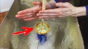 Wie man Zuckerwatte ohne eine Maschine macht