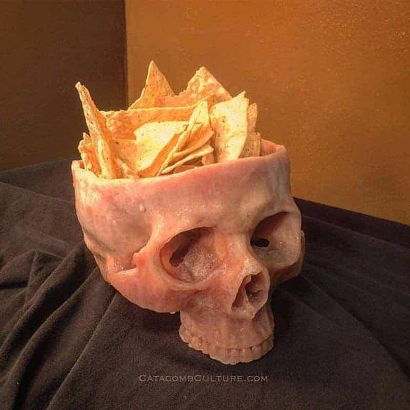 Cuenco de cráneo humano – cuenco de cráneo | Dravens Historias de la ...