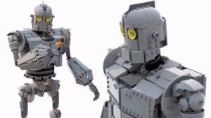 O Gigante de Ferro feito de Lego