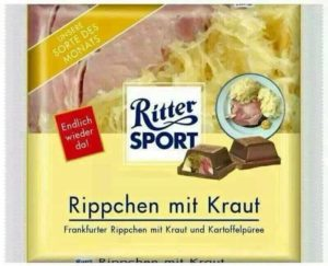 Ritter Sport: Ribs with sauerkraut