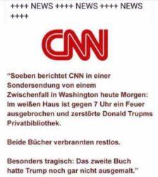 CNN speciaal programma: Incident in het witte huis