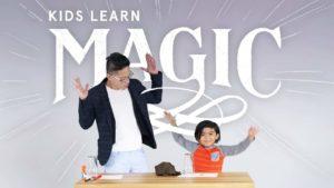 Abracadabra: Children learn magic tricks