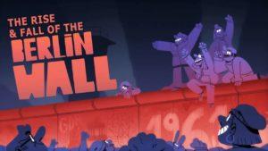 Der Bau und Fall der Berliner Mauer als Animation