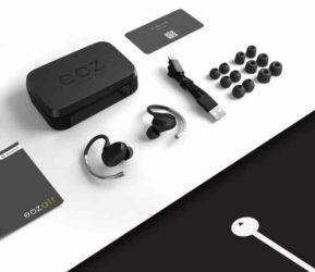 EOZ Air: Mini Bluetooth Noise Canceling Headphones