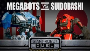 Giant Robot Duel: Giant Robot Battle between the US and Japan