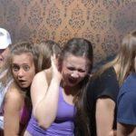De sjokkerte besøkende til Nightmares Fear Factory i Canada