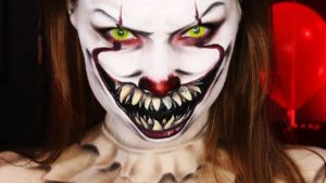 "& Quot; IT"" Pennywise HALLOWEEN MAKE-UP TUTORIAL"
