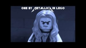 Metallicas One in Lego